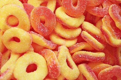 Ferrara Peach Rings 5lb