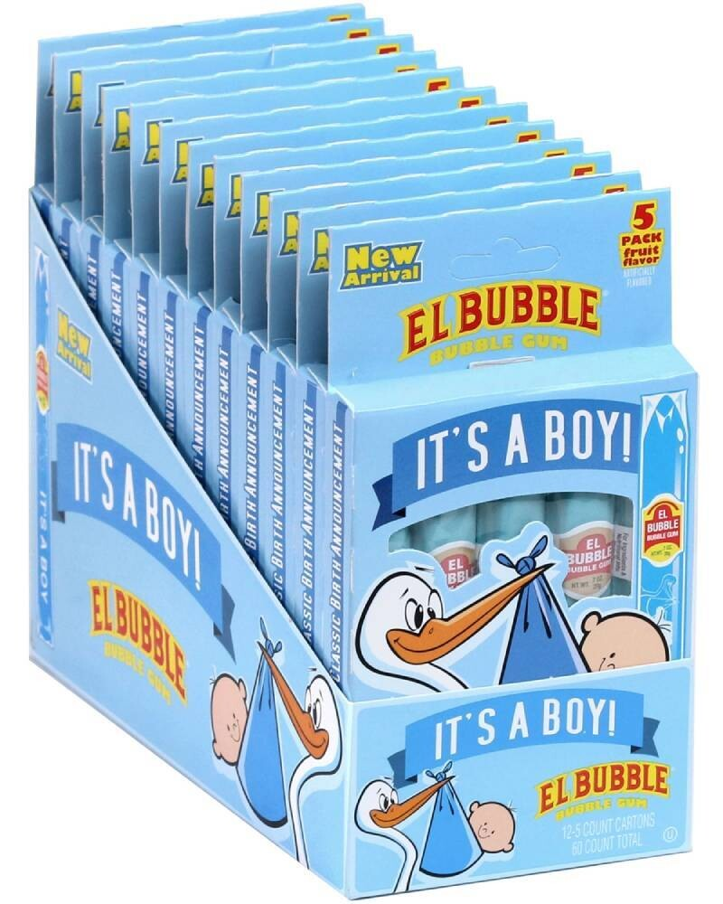 Its A Boy Gum Cigars 5ct
