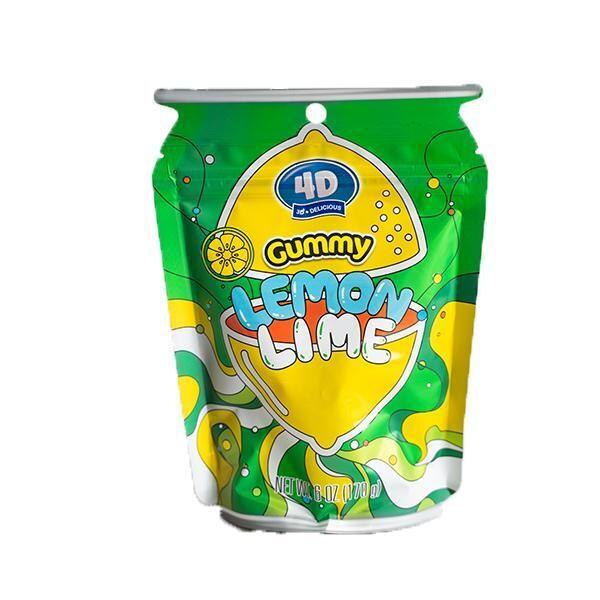4D Gummy Lemon Lime 6oz