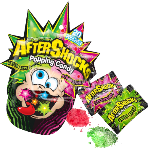 After Shocks Popping Candy 20 pouches