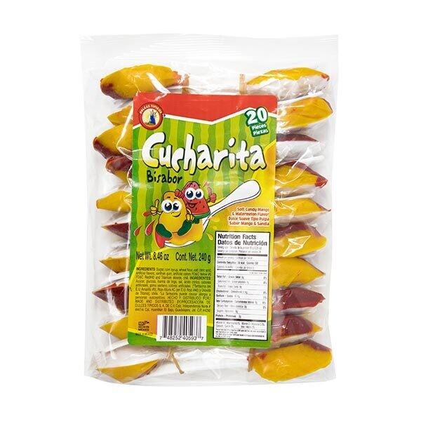 Cucharita Spoon Mango & Watermelon 20ct