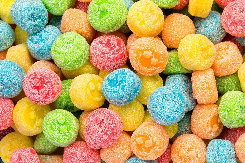 Gummy Sour Poppers 4.5lb