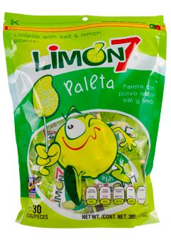 Limon 7 Lollipops 30ct