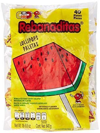 Rebanaditas No Chili 40ct