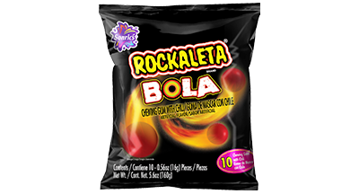 Rockaleta Bola 10ct
