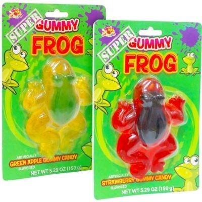 Super Gummy Frog 1ct