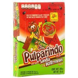Pulparindo Watermelon 20ct