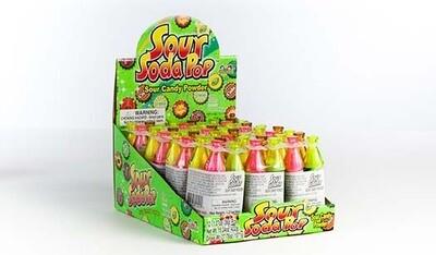 Sour Soda Pop 12ct