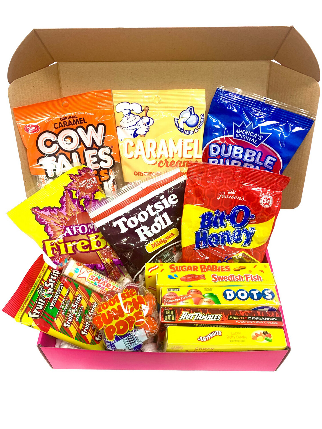 Old School Candy Survival Box