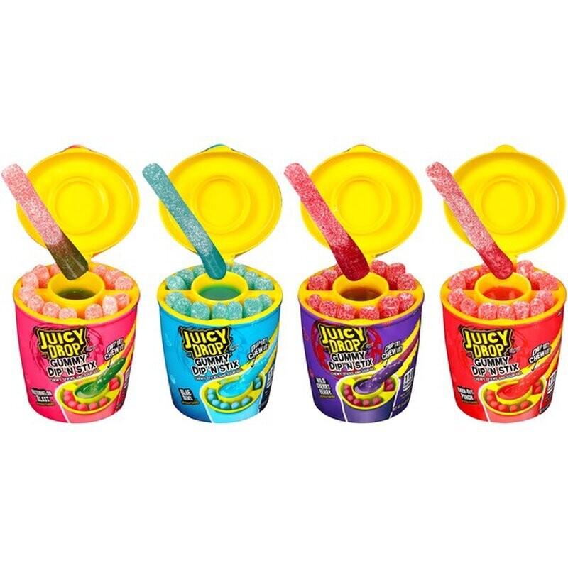 Juicy Drop Gummy Dip N' Stix 1ct