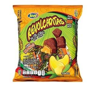 Revolcaditas w/chili Mango100ct