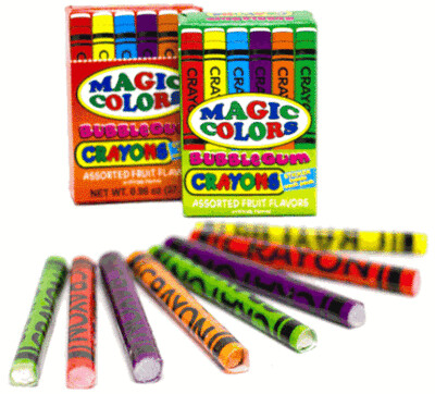 Magic Color Crayons 1ct
