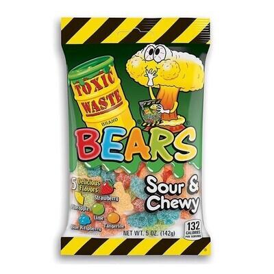 Toxic Waste Chewy Bears 5oz