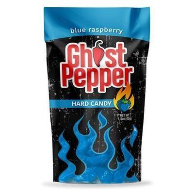 Ghost Pepper Blue Rasp Hard Candy 1.3oz