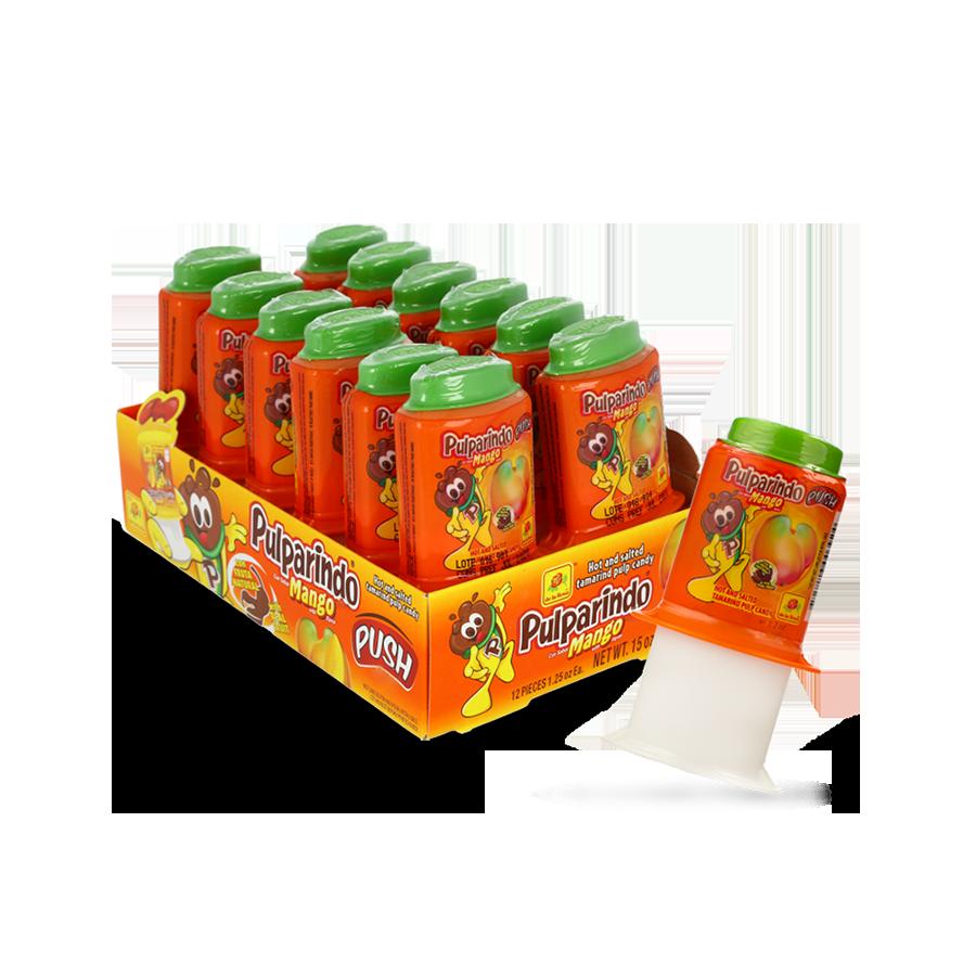 Pulparindo Push Mango 12ct