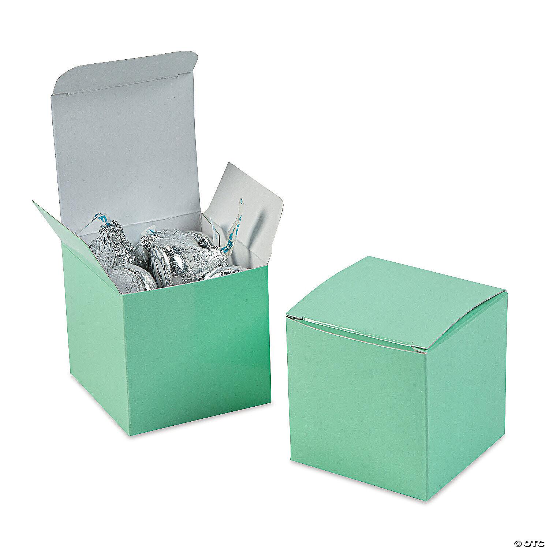 Gift Box 2x2 Aqua 10ct