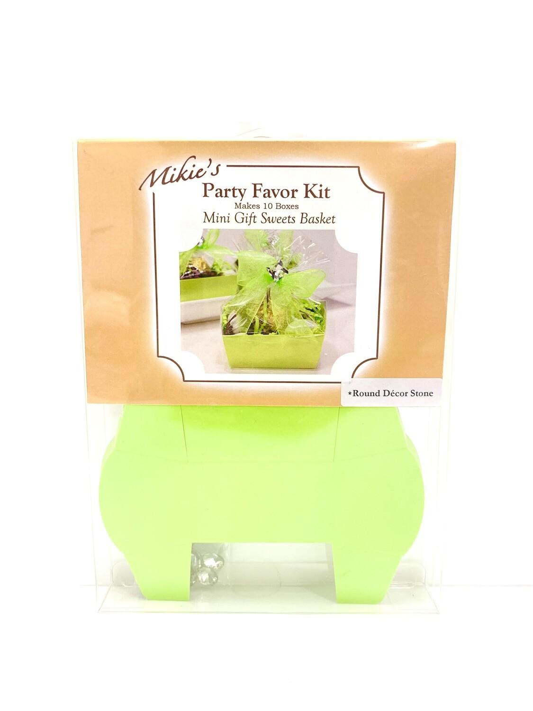 Mini Favor Kit Lime 10ct