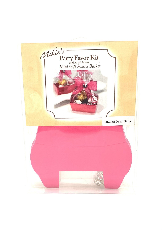 Mini Favor Kit Fuchsia 10ct