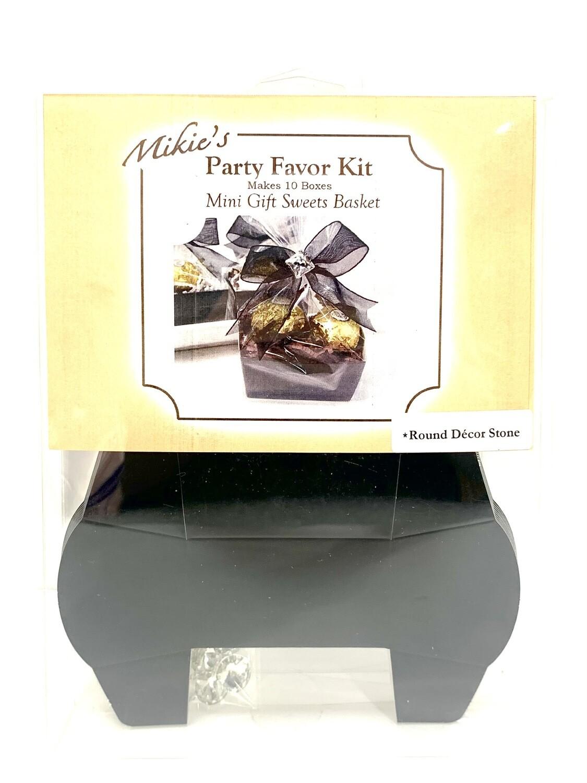 Mini Favor Kit Black 10ct