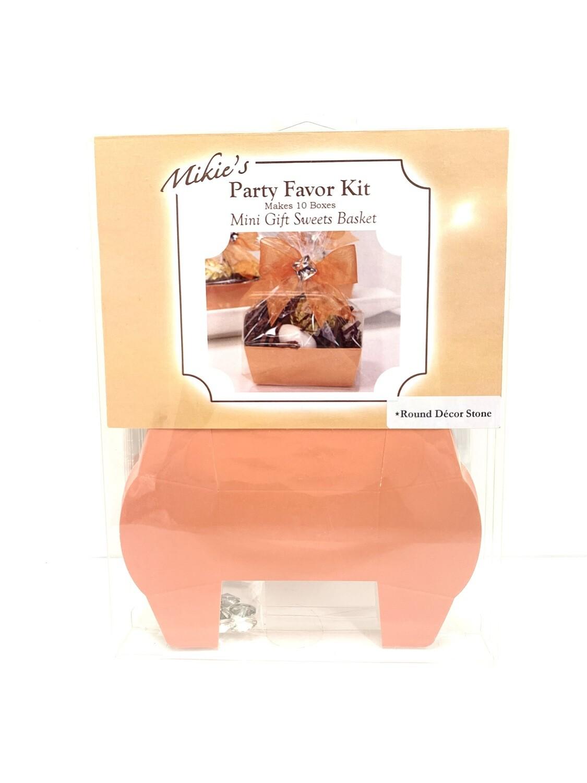 Mini Favor Kit Orange 10ct