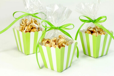 Popcorn Box Lime 10ct