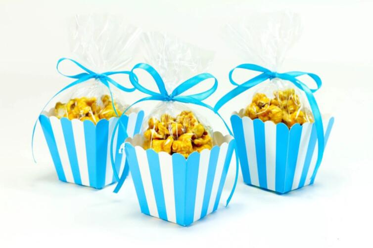 Popcorn Box Turquoise 10ct