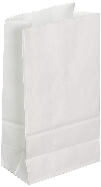 Mini Paper Bag White 12ct