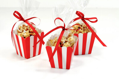 Popcorn Box Red 10ct