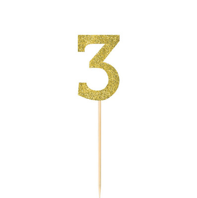 Pick Glitter Gold #3 4ct