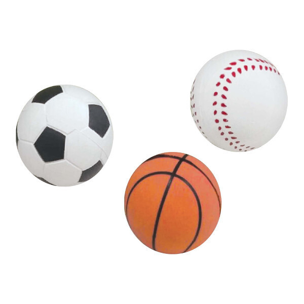 Sponge Sport Ball 6ct