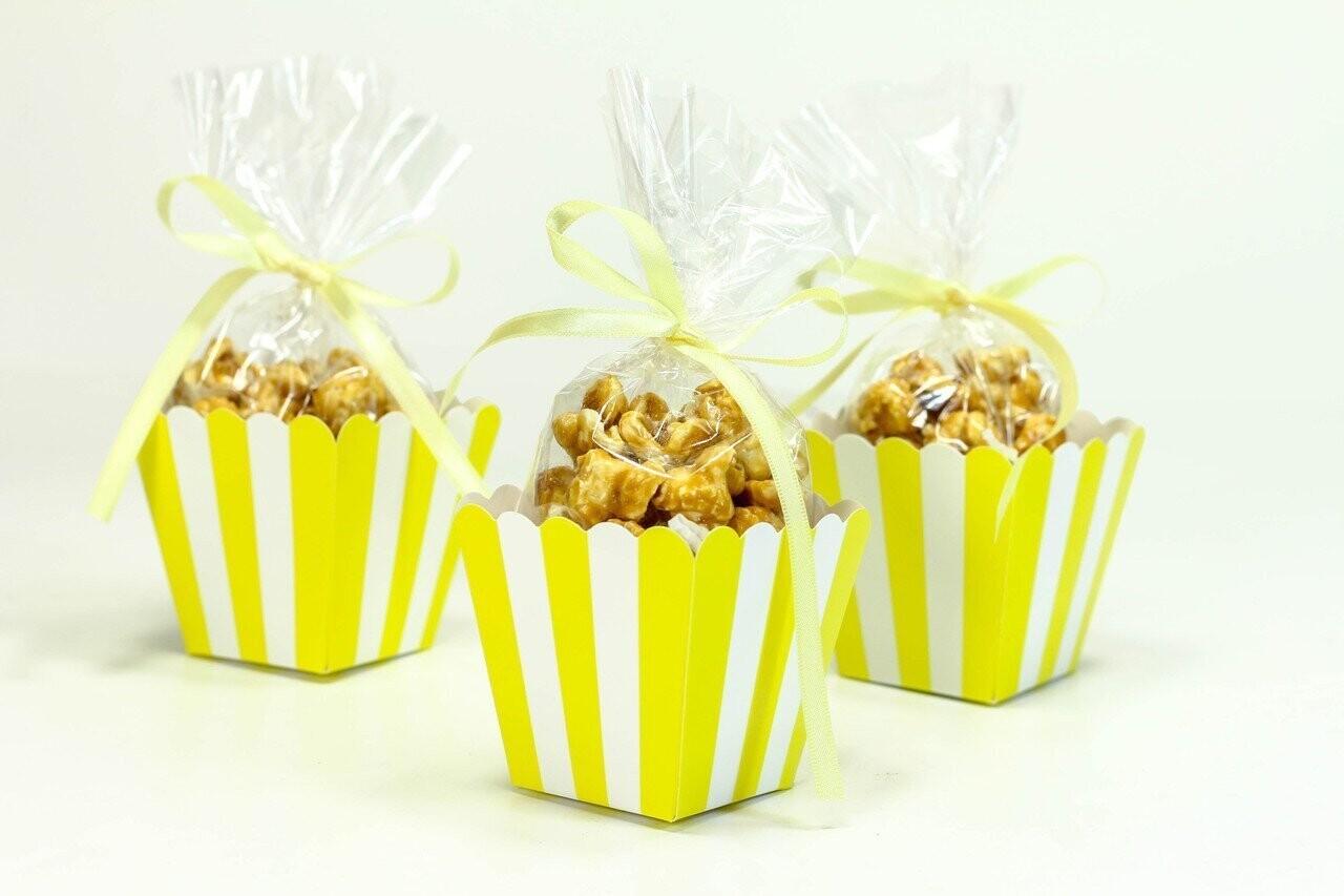 Popcorn Box Yellow 10ct