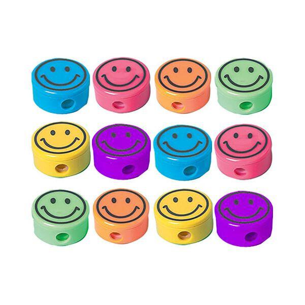 Smile Pencil Sharpeners 12ct