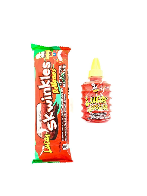 Skwinkles Watermelon + Lucas Gusano Chamoy Bundle