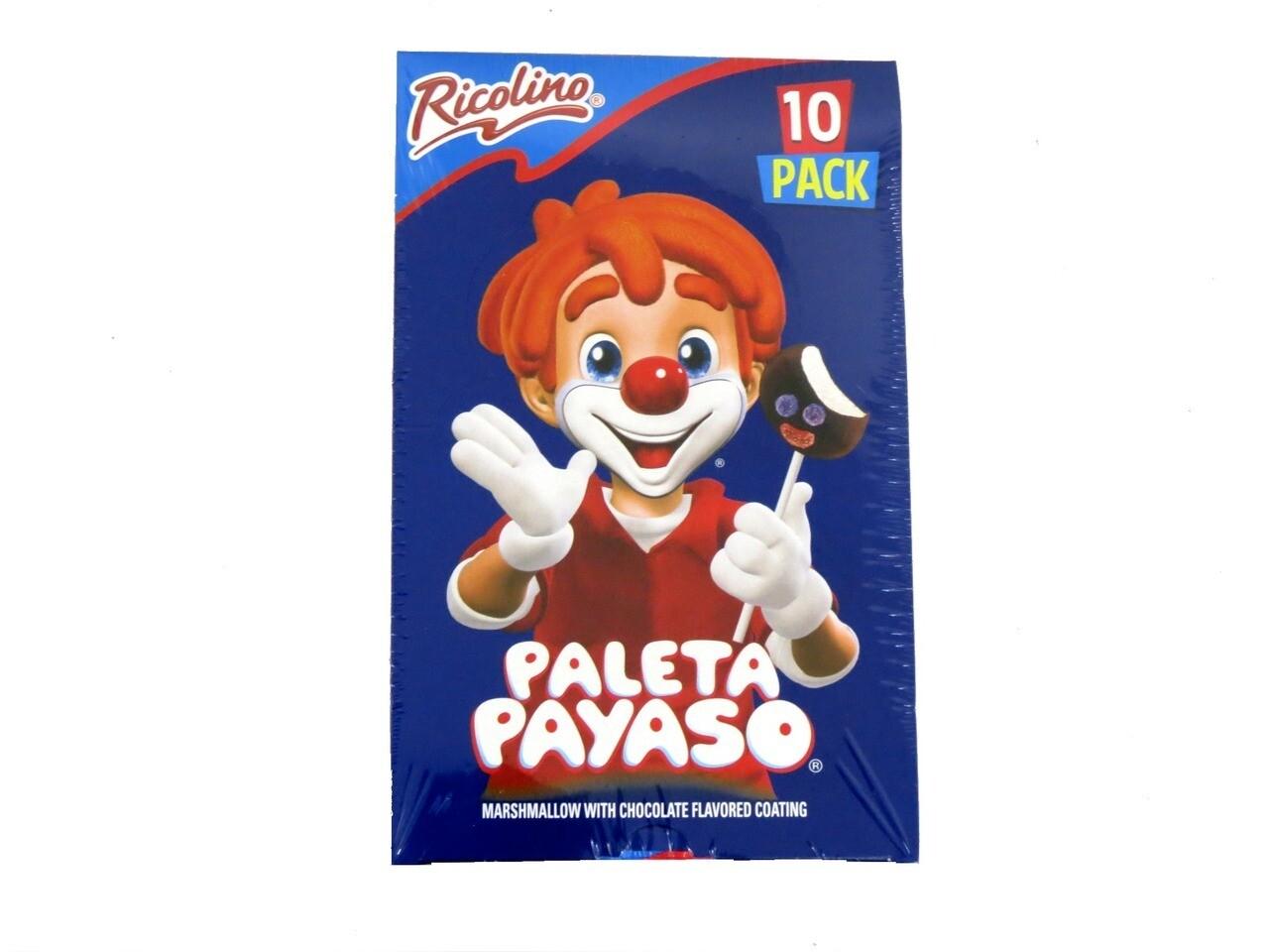 Paleta Payaso 10ct