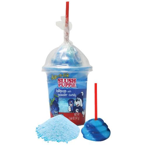 Slush Puppie Lollipop with Powder Candy 1.66oz