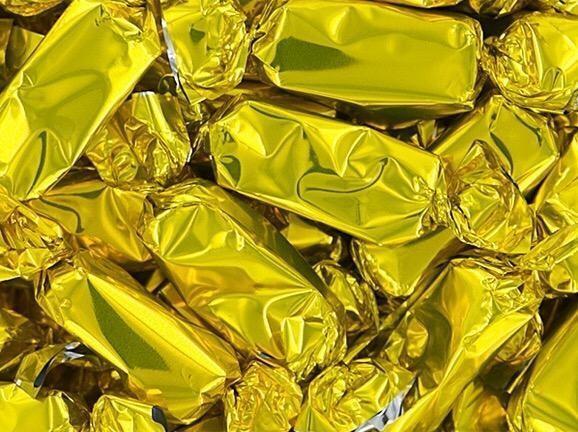 Caramel Foil Gold 2lb