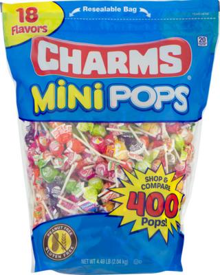 Charms Mini Pops 400ct