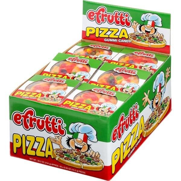 eFrutti Gummy Pizza 48ct