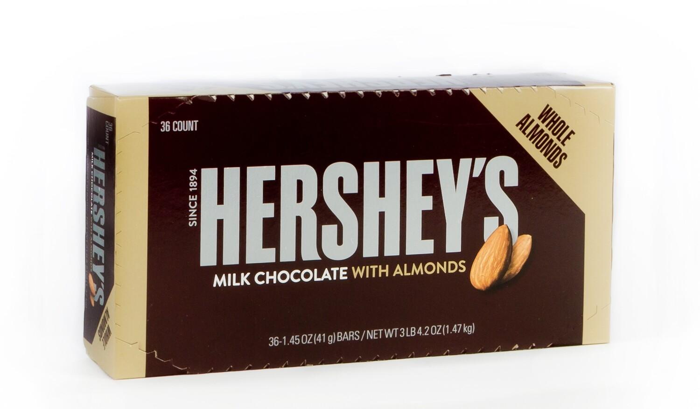 Hershey Almond 36ct