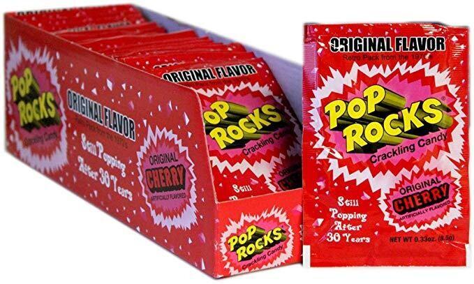 Pop Rocks Original Cherry 24ct