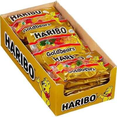 Haribo Gold Bears 2oz 24ct