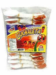 Cuchaleta Hot Spoons 24ct