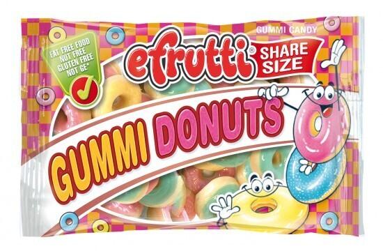 eFrutti Gummi Donuts Bag 1.4oz