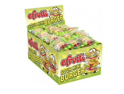 eFrutti Sour Gummy Burger 60ct
