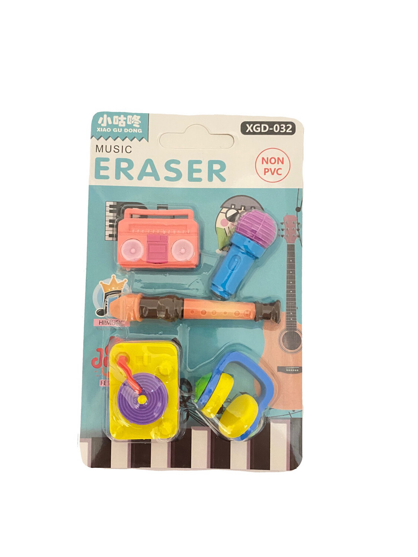 DJ Music Eraser 5ct