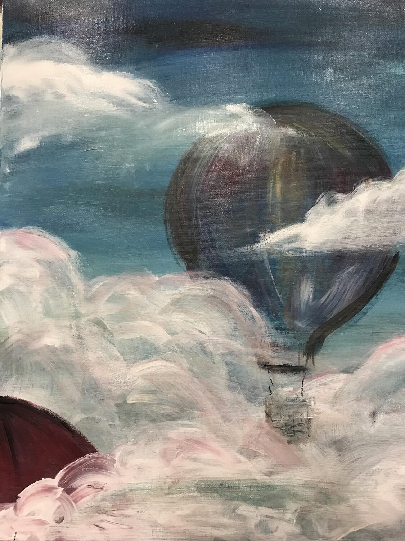 Cloud Meets Balloon