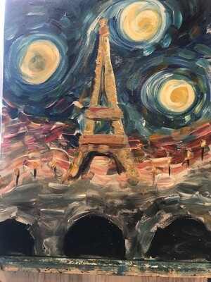 It's April In Paris. Wanna Van Gogh?