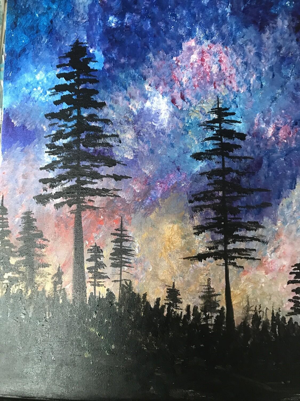 Galaxy Sky & Forestry