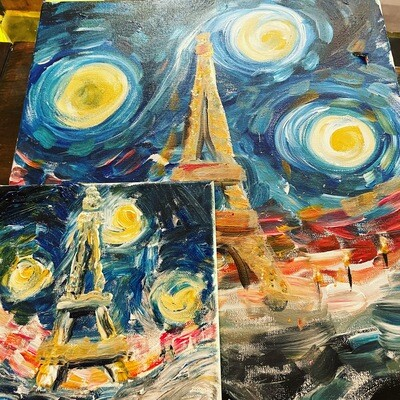 Wanna Van Gogh to Paris? Includes French cover tune trivia!