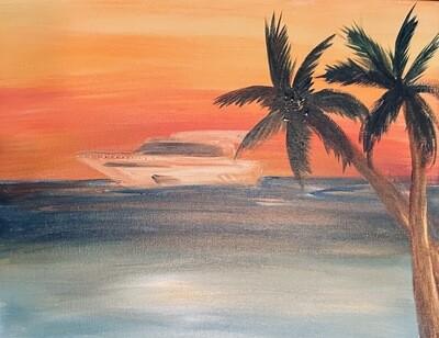 Yacht Rock Night! Paint, Sip, Sing-A-Long.